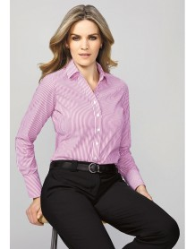 Vermont Ladies Long Sleeve Shirt - CLEARANCE