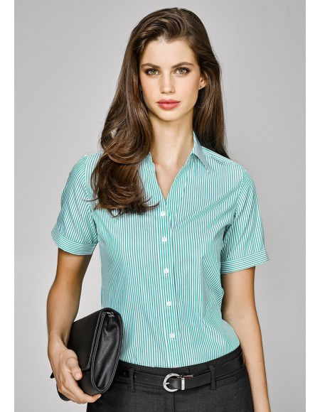 Vermont Ladies Short Sleeve Shirt - CLEARANCE