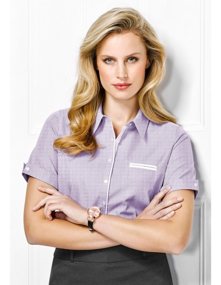 Calais Ladies Short Sleeve Shirt - CLEARANCE