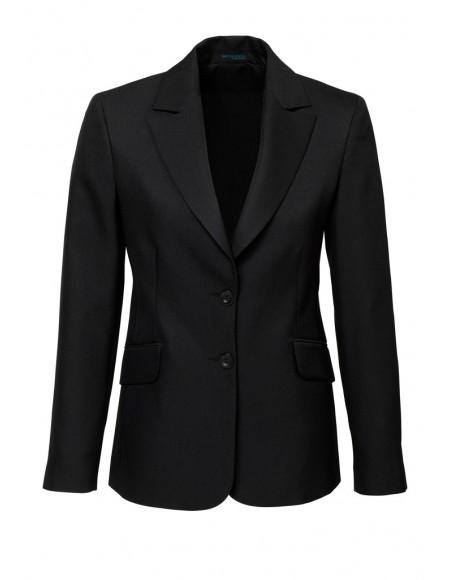 Ladies Longline Jacket in Plain Suiting