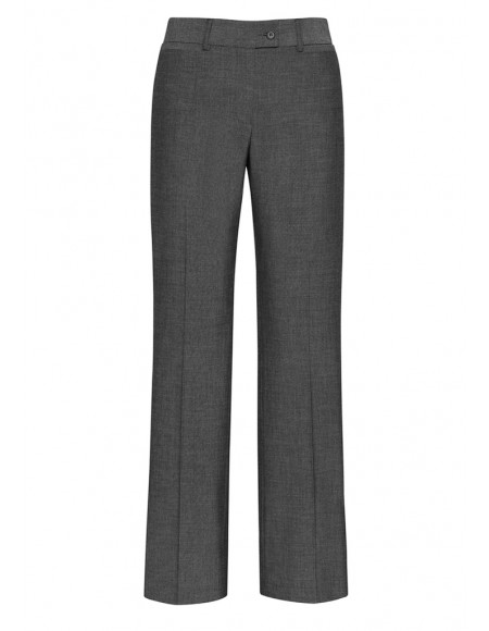 Ladies Relax Fit Pant - Textured Stretch Suiting