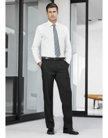 Mens Adjustable Waist Pant Regular in Cool Stretch Plain