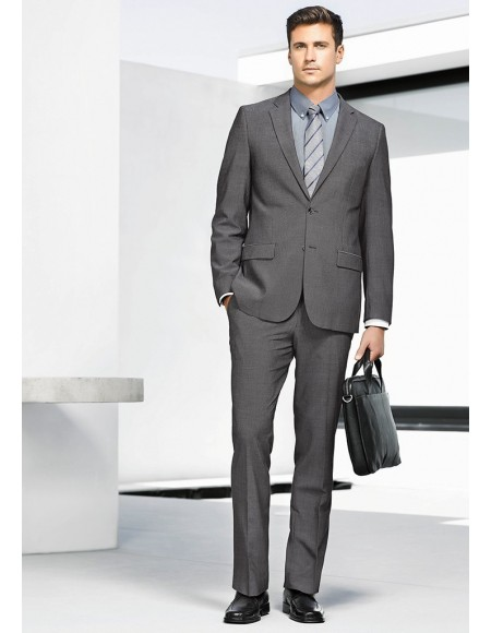 Mens Slimline Pant ROCOCO Textured Yarn Suiting