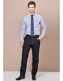 Mens Adjustable Waist Pant in Comfort Wool Stretch