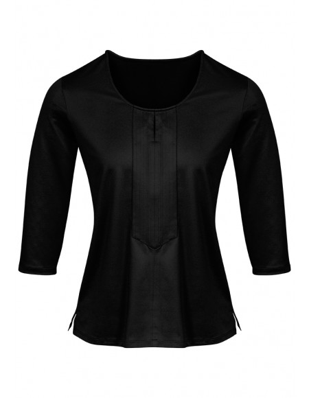 Advatex Cool Abby 3/4 sleeve Knit Top black