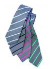 Single Contrast Stripe Tie