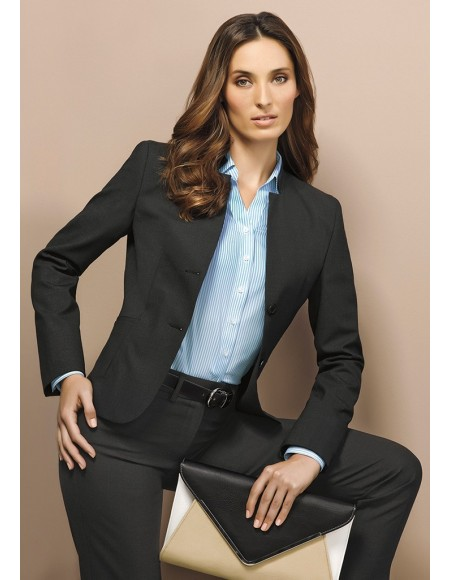 Ladies Slim Leg Pant - Wool Suiting