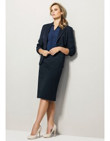 Ladies Relaxed Fit Lined Skirt - Plain Suiting
