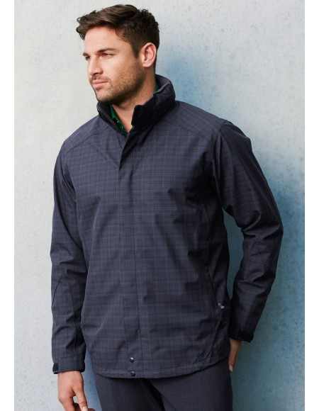 Quantum Biz Tech™ Mens Waterproof Jacket