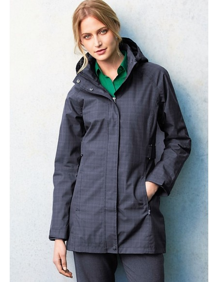 Quantum Biz Tech™ Ladies Waterproof Jacket