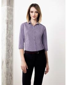 Newport Ladies 3/4 Sleeve Shirt