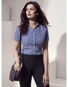 Springfield Ladies Short Sleeve Shirt french navy