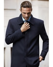 Mens Lined Car Coat