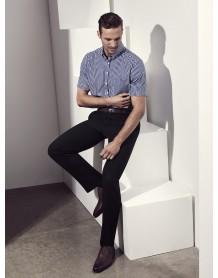 Springfield Mens Short Sleeve Shirt french blue