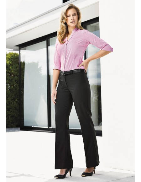 Ladies Relaxed Fit Bootleg Pant